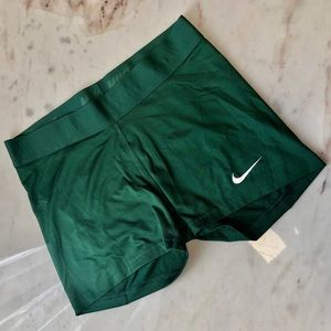 Dark green Nike spandex